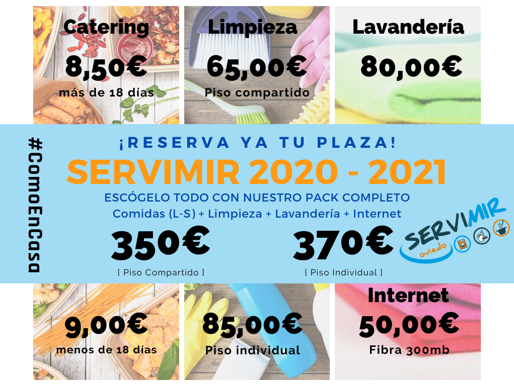 Tarifas 2020/2021